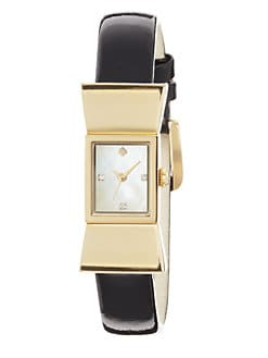 Kate Spade New York - Carlyle Goldtone Bow Watch