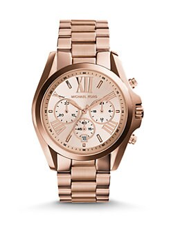 Michael Kors - Rose Goldtone Chronograph Watch
