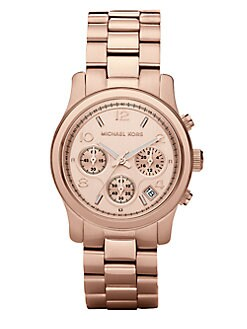 Michael Kors - Chronograph Bracelet Watch/Rose Gold
