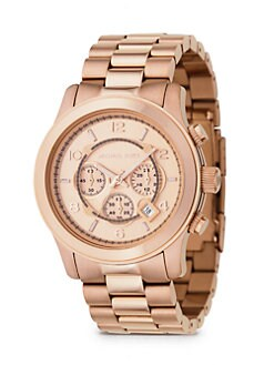 Michael Kors - Chronograph Stainless Steel Bracelet Watch