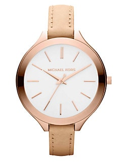 Michael Kors - Rose Goldtone Stainless Steel Watch
