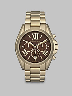Michael Kors - Goldtone Chronograph Watch
