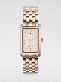 Kate Spade New York - Copper Two-Tone Bracelet Watch