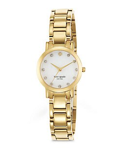 Kate Spade New York - Gramercy Mini Goldtone Bracelet Watch