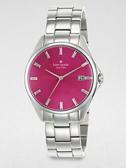 Kate Spade New York - Seaport Grand Stainless Steel Bracelet Watch