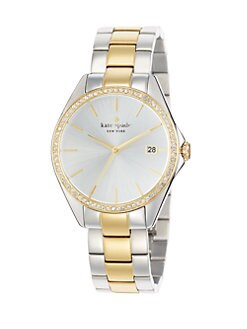Kate Spade New York - Seaport Grand Two-Tone Bracelet Watch