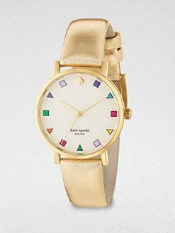 Kate Spade New York - Goldtone Stainless Steel Watch