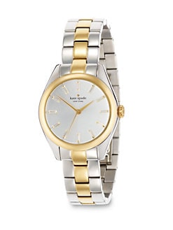 Kate Spade New York - Crystal & Two-Tone Watch