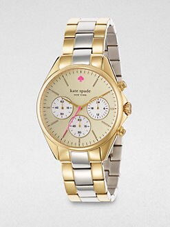 Kate Spade New York - Two-Tone Chronograph Watch