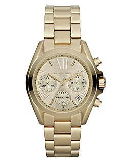 Michael Kors - Goldtone Stainless Steel Chronograph Watch