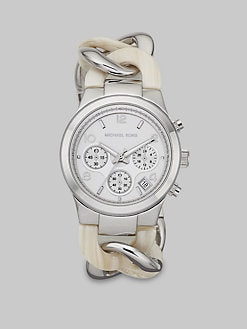 Michael Kors - Acetate & Stainless Steel Chronograph Watch
