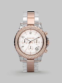 Michael Kors - Madison Chronograph Lucite Watch