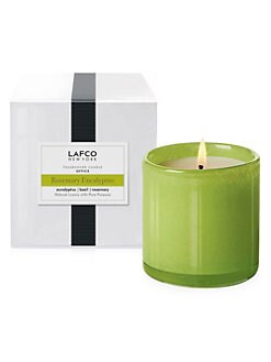 Lafco - Office/Rosemary Eucalyptus Glass Candle