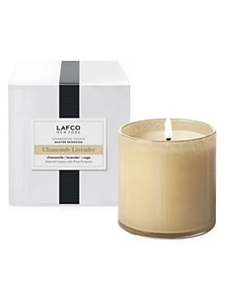 Lafco - Bedroom/Chamomile Lavender Glass Candle