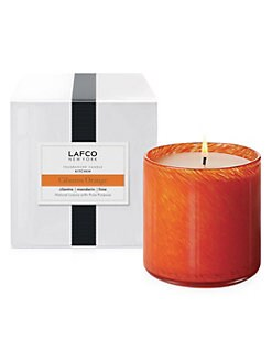 Lafco - Kithen/Cilantro Orange Glass Candle