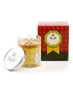 Agraria - Golden Pomegranate Petite Crystal Cane Candle