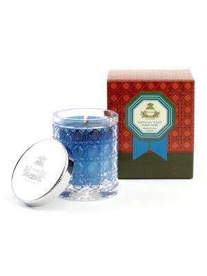 Mediterranean Jasmine Petite Crystal Cane Candle