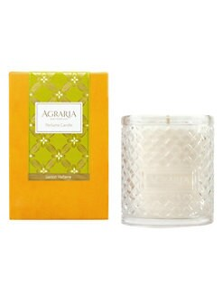 Agraria - Lemon Verbena Woven Crystal Candle