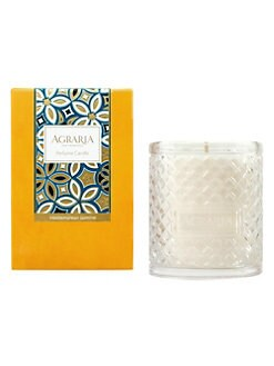 Agraria - Mediterranean Jasmine Woven Crystal Candle