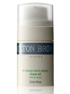 Molton Brown - Re-charge Black Pepper Shave Oil/1 oz.