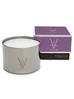 Vie Luxe - Sardinia Three-Wick Candle