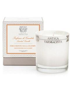 Antica Farmacista - Orange Blossom, Lilac and Jasmine Round Candle/9 oz.