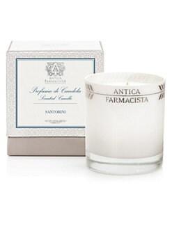 Antica Farmacista - Santorini Platinum Round Candle/9 oz.