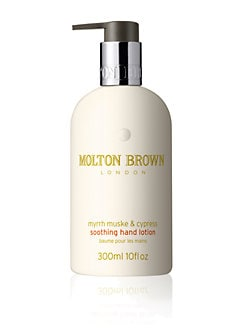 Molton Brown - Myrrh, Muske and Cypress Soothing Hand Lotion/10 oz.