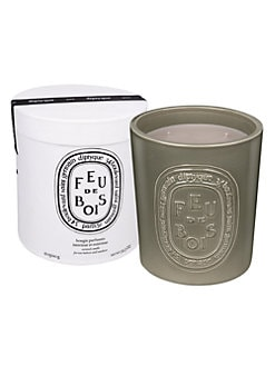 Diptyque - Fue de bois Ceramic Indoor/Outdoor Candle