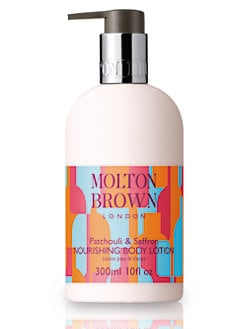 Molton Brown - Patchouli & Saffron Body Lotion/10 oz.