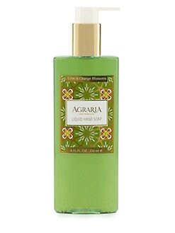 Agraria - Lime & Orange Blossoms Liquid Hand Soap/8.45 oz.