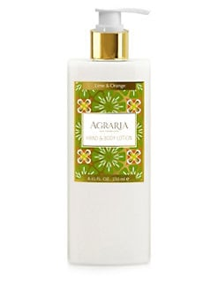 Agraria - Lime & Orange Blossoms Hand & Body Lotion/8.45 oz.
