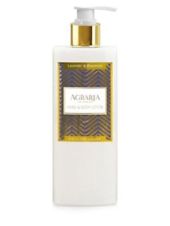 Agraria - Lavender & Rosemary Hand & Body Lotion/8.45 oz.
