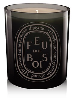 Diptyque - Grey Feu De Bois Candle/10.2 oz.