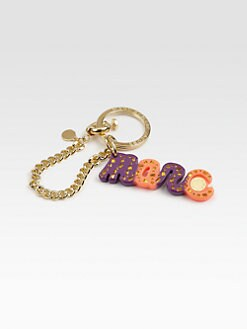 Marc by Marc Jacobs - Confetti Logo Key Chain