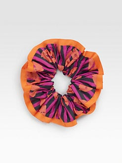 Marc by Marc Jacobs - Striped Lips Scrunchie