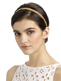 Jennifer Behr - Thin Leather Headwrap