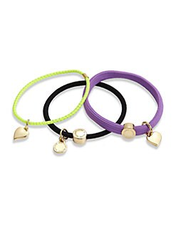 Marc by Marc Jacobs - L'Amour Fou Mixed Cluster Ponytail Holders