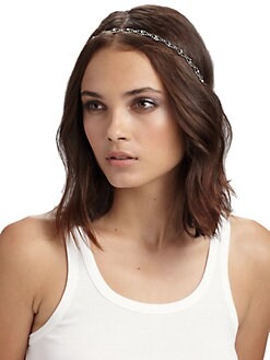 Jennifer Behr - Crystal Scalloped Headband