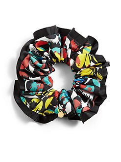 Marc by Marc Jacobs - Jungle-Print Chou Chou Scrunchie