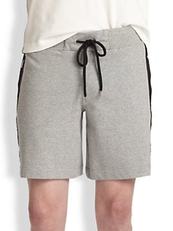 Moncler - Nylon Trim Sweatshorts