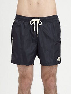 Moncler - Striped Swim Shorts