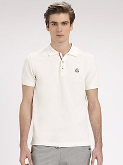 Moncler - Cotton Tipped Polo