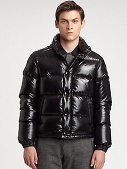 Moncler - Ever Laque Down Bomber Jacket