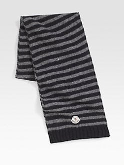 Moncler - Striped Wool Scarf