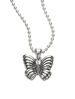 Lagos - Sterling Silver Butterfly Pendant Necklace