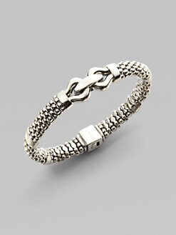 Lagos - Sterling Silver Center Link Bracelet