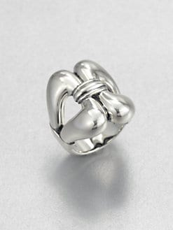 Lagos - Sterling Silver Stirrup Ring