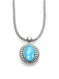 Lagos - Turquoise and Sterling Silver Necklace