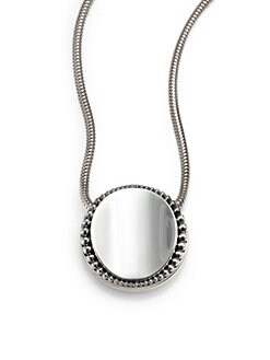 Lagos - Sterling Silver Caviar-Beaded Necklace